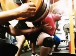 Elite powerlifter Vlad Alkhazov squats 1,175 pounds (532.5 kg) to set the new squat world record