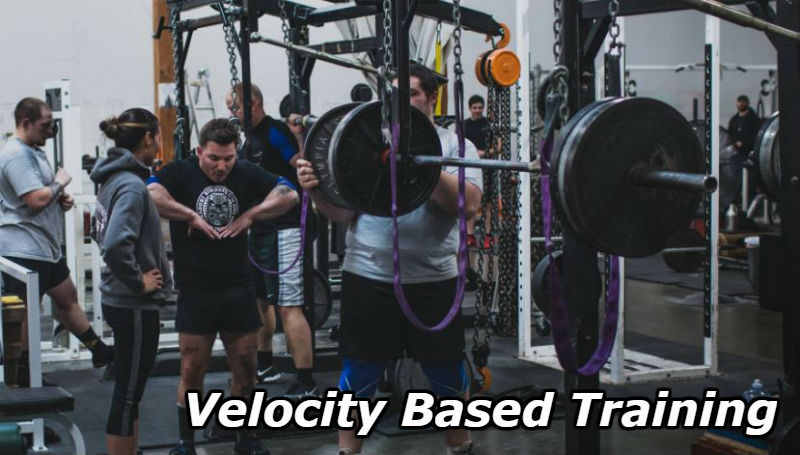 velocity based training in action at Kabuki Strength