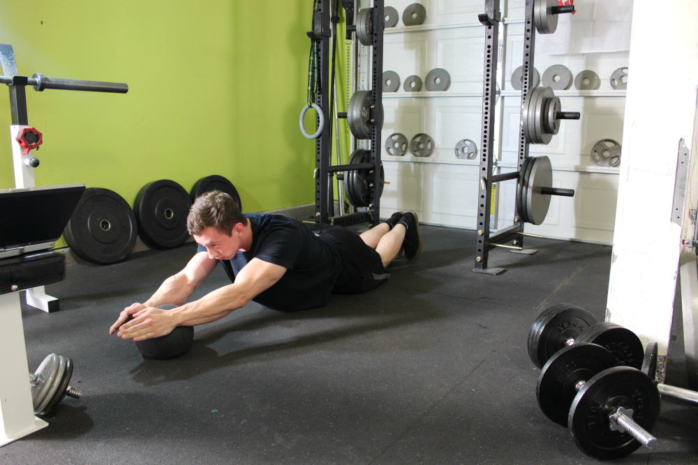 Ball Ab Roller Workout