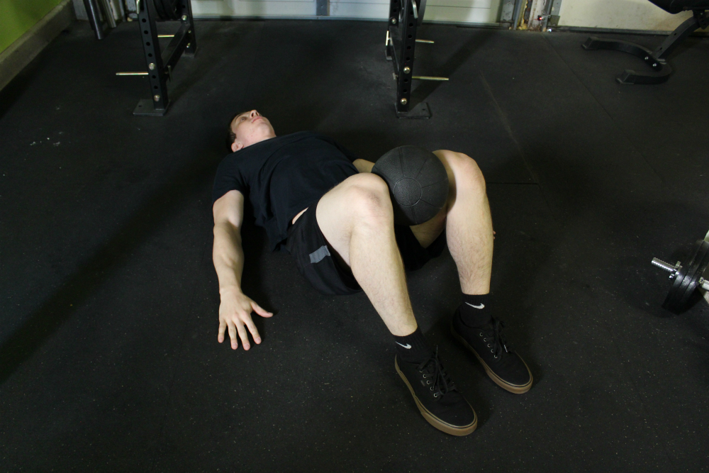 Ball Hip Adduction Exercise