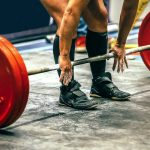 Powerlifting Shoes used during deadlifts