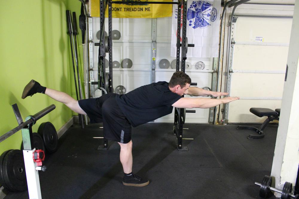 Reaching Single Leg Deadlift