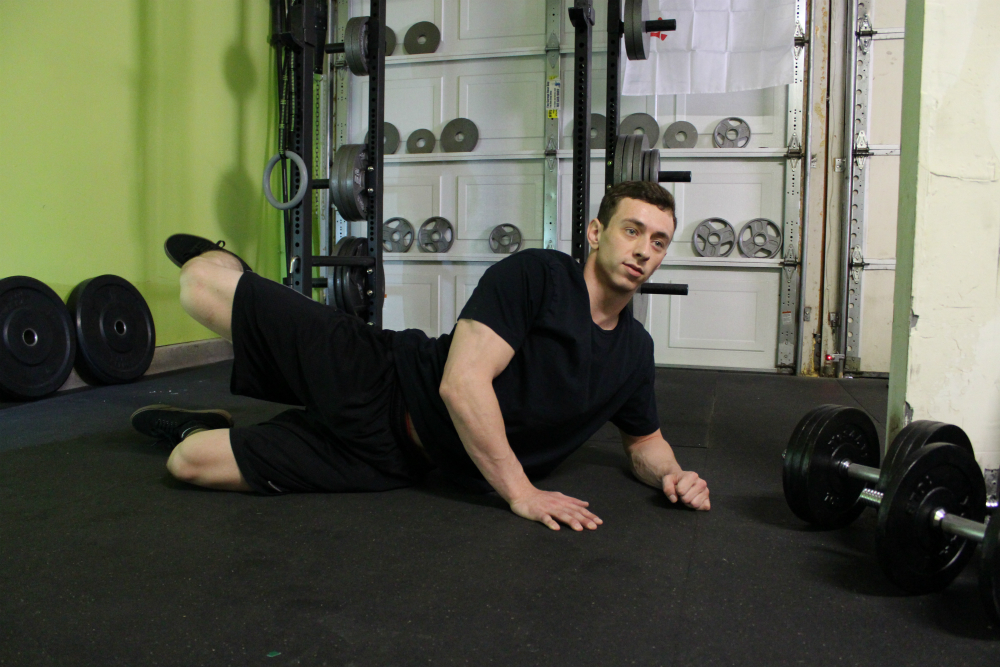 Supine Short Hip Abduction Exercise