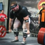 Juggernaut Training Program Creator Chad Wesley Smith deadlifts in competition