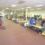 Main lifting area of Average Broz Gym