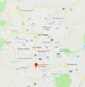 Location of Average Broz Weightlifting and Powerlifting Gym in South Las Vegas