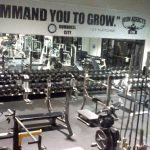 Free weights portion of Iron Addicts Gym in Las Vegas